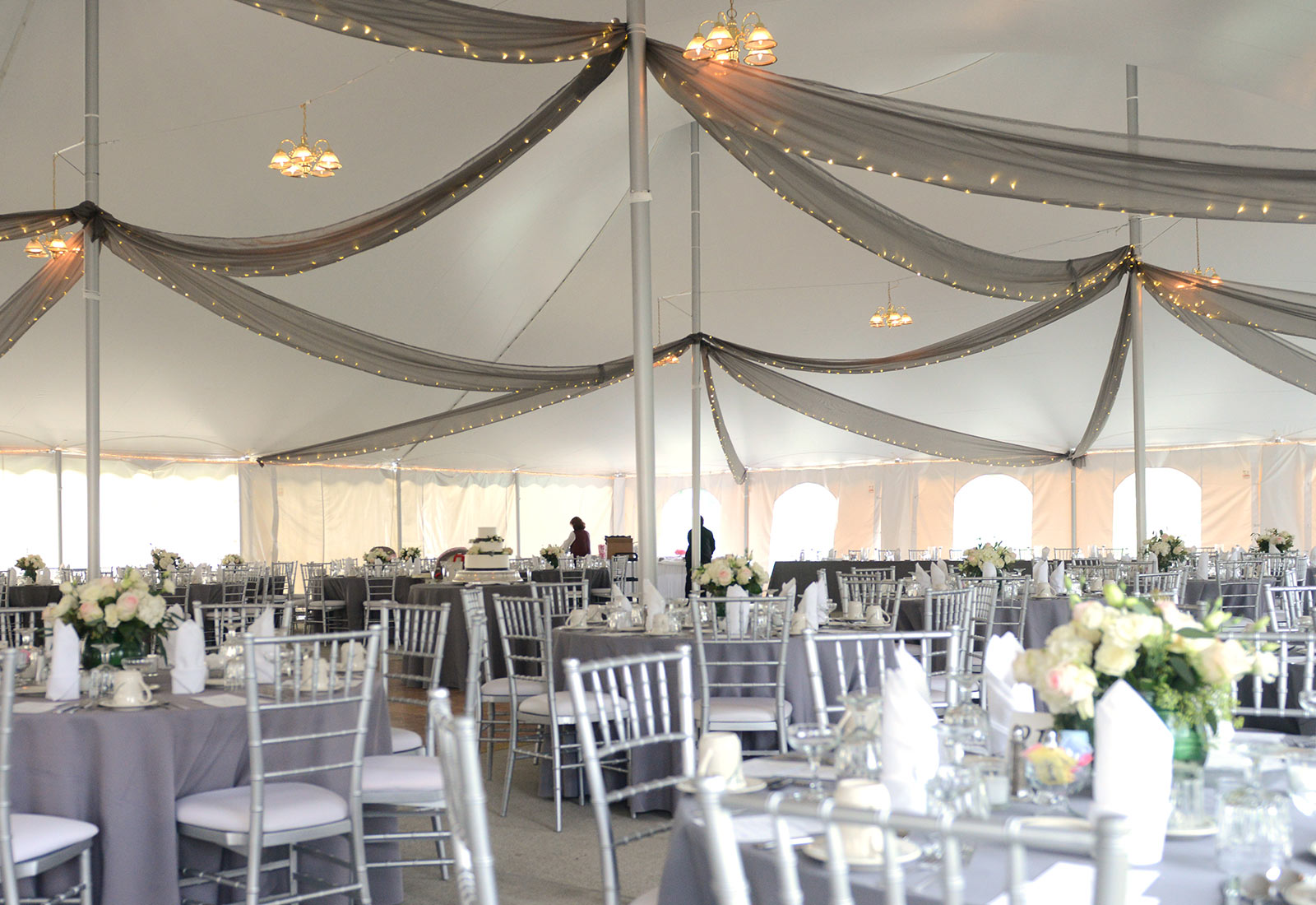 Elegant Tent Weddings & Weddings | Linden Hall